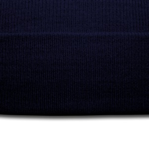 Navy love_formula_lim Women's T-shirts - Knit Cap with Cuff Print