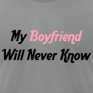 For the Boys - Men's T-Shirt by American Apparel