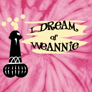 Spider pink I Dream of Weannie T-Shirts - Unisex Tie Dye T-Shirt