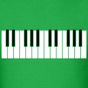 Bright green Simple Piano T-Shirts - Men's T-Shirt