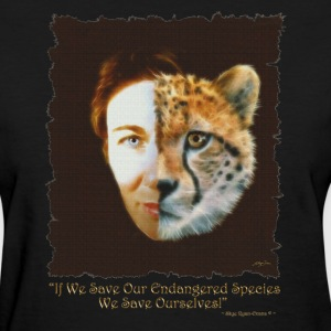 Save Our Endangered Wildlife - Women's T-Shirt