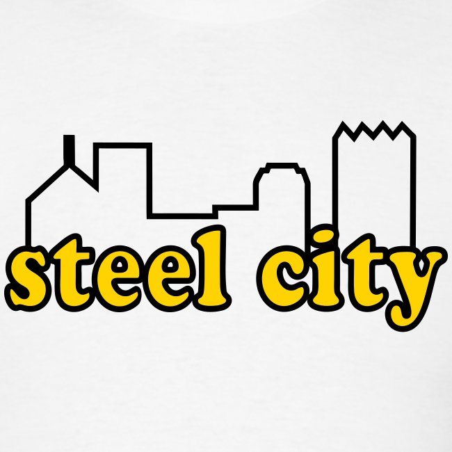 Steel City T-shirt Yellow/Black