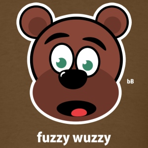 Brown fuzzy wuzzy T-Shirts - Men's T-Shirt