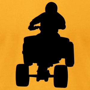 Gold 4 wheeler T-Shirts - Men's T-Shirt by American Apparel