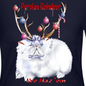 Persian Reindeer - Women's Long Sleeve Jersey T-Shirt