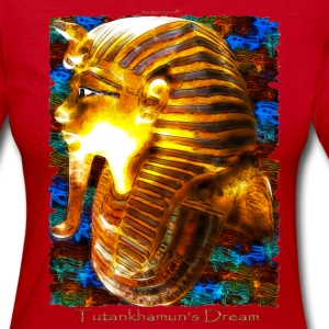 Tutankhamun's Dream - Women's Long Sleeve Jersey T-Shirt