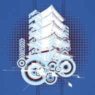 Design ~ COOL Tower Designer Hoodie