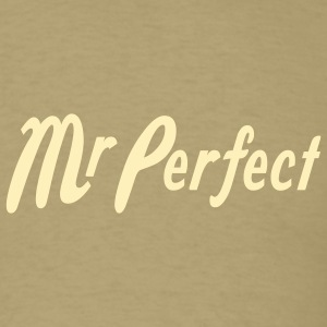 Khaki Mr Perfect T-Shirts - Men's T-Shirt