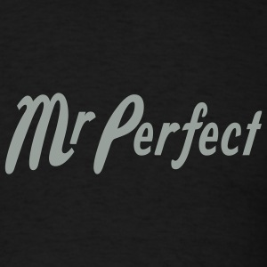 Black Mr Perfect T-Shirts - Men's T-Shirt