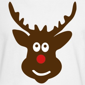 White Reindeer Long sleeve shirts - Men's Long Sleeve T-Shirt