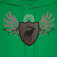 Design ~ Deer Hunter Designer Graphic Hoodie