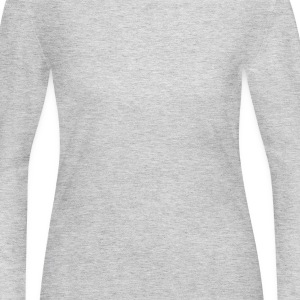 Gray More Love Please T-Shirts - Women's Long Sleeve Jersey T-Shirt
