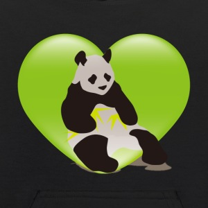 The stuffed toy of the panda - Kids' Hoodie