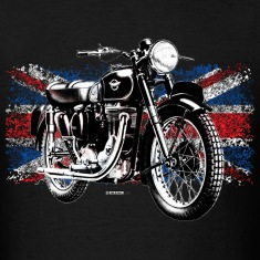 Black Matchless motorcycle