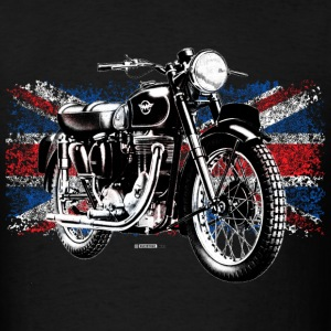 Black Matchless motorcycle - Men's T-Shirt