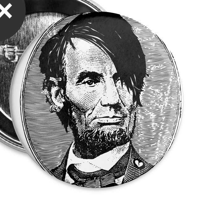 Emo Lincoln Pin 5 Pack