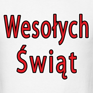 Wesolych Swiat - Men's T-Shirt