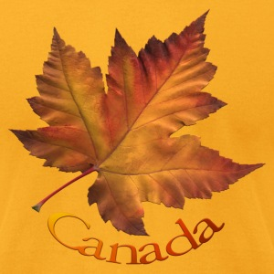 Canada Souvenir Men's Shirts AA Maple Leaf Shirts - Men's T-Shirt by American Apparel
