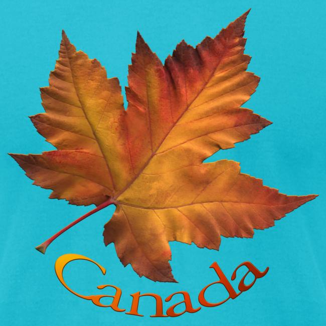 Canada Souvenir Men's T-Shirts Maple Leaf Shirts