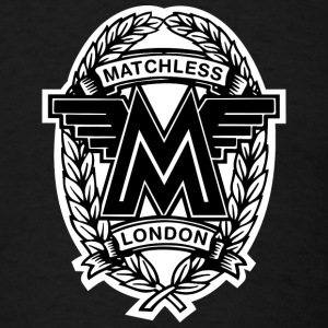 Black Matchless London emblem / AUTONAUT.com T-Shirts - Men's T-Shirt