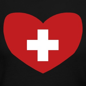 Love Switzerland - Women's Long Sleeve Jersey T-Shirt