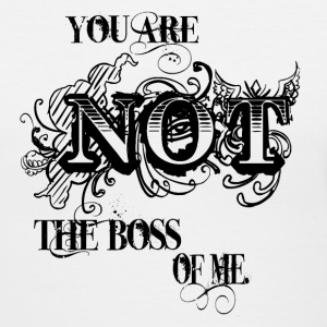 You are not the Boss of Me. - Women's V-Neck T-Shirt