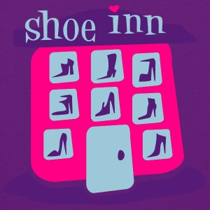 Light pink Shoe Inn With Shoes And Boots Hooded Sweatshirts - Women's Hoodie