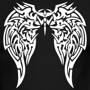 Black/white tribal wings T-Shirts - Men's Ringer T-Shirt