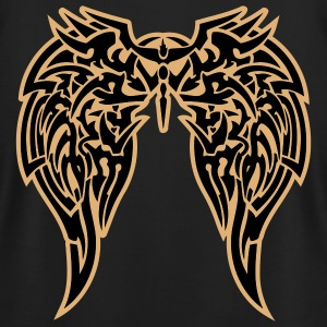 Black tribal wings T-Shirts - Men's T-Shirt by American Apparel
