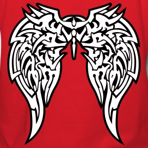 Red tribal wings Hooded Sweatshirts - Women's Hoodie