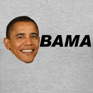 obama - Women's V-Neck T-Shirt
