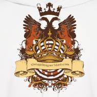 Design ~ Vintage Designer Tshirts.com Logo Heraldy Crest
