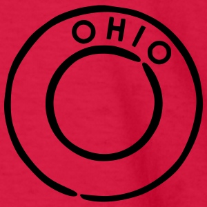 Red Ohio Kids Shirts - Kids' Long Sleeve T-Shirt