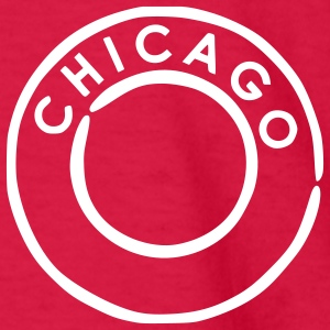 Red Chicago Kids Shirts - Kids' Long Sleeve T-Shirt