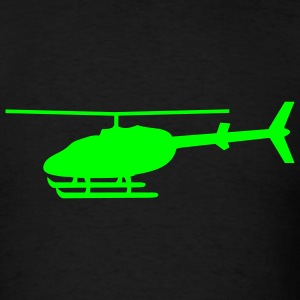 Black Helicopter T-Shirts - Men's T-Shirt