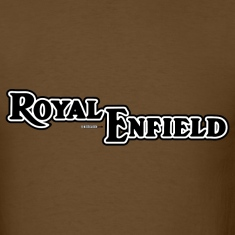 Brown Royal Enfield - AUTONAUT.com T-Shirts