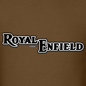 Brown Royal Enfield - AUTONAUT.com T-Shirts - Men's T-Shirt