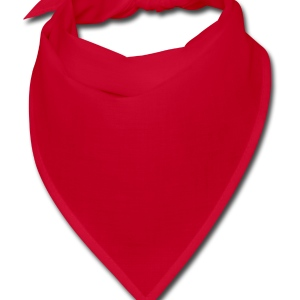 Red Hearts Cut Out In Heart Formation, Asymmetrical Hooded Sweatshirts - Bandana