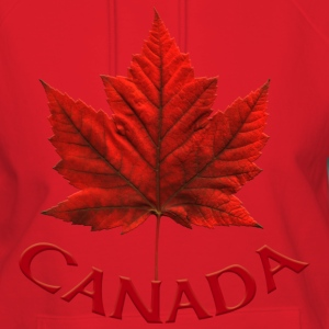 Canada Maple Leaf Souvenir Women's Hooded Canada Sweatshirt - Women's Hoodie
