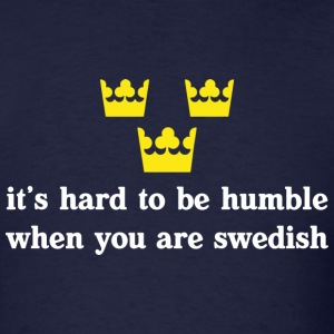 Navy Humble Swedish T-Shirts - Men's T-Shirt