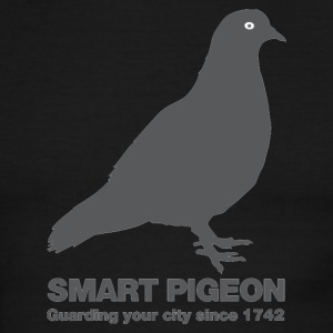 Smart pigeon - Men's Ringer T-Shirt