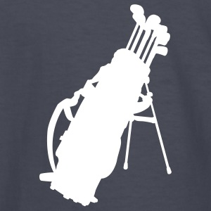 Navy golf clubs Kids Shirts - Kids' Long Sleeve T-Shirt