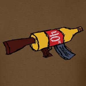 AK-40 oz. - Men's T-Shirt