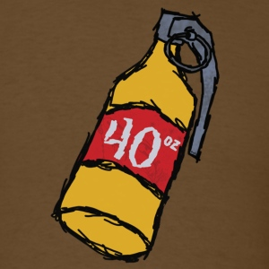 40 oz. Grenade - Men's T-Shirt