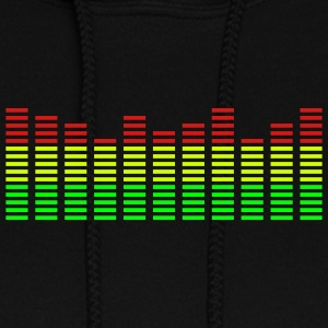 Black Analyzer Hooded Sweatshirts - Women's Hoodie