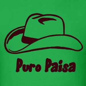 Bright green Puro Paisa T-Shirts - Men's T-Shirt