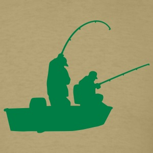 Khaki Fishermen T-Shirts - Men's T-Shirt