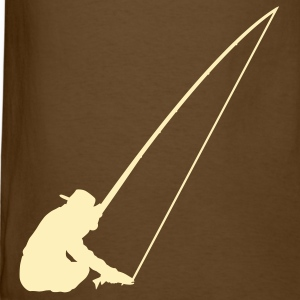 Brown Fishing T-Shirts - Men's T-Shirt