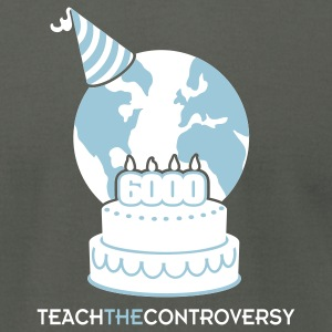 Young Earth (Teach the Controversy) T-Shirts - Men's T-Shirt by American Apparel