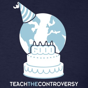 Young Earth (Teach the Controversy) T-Shirts - Men's T-Shirt